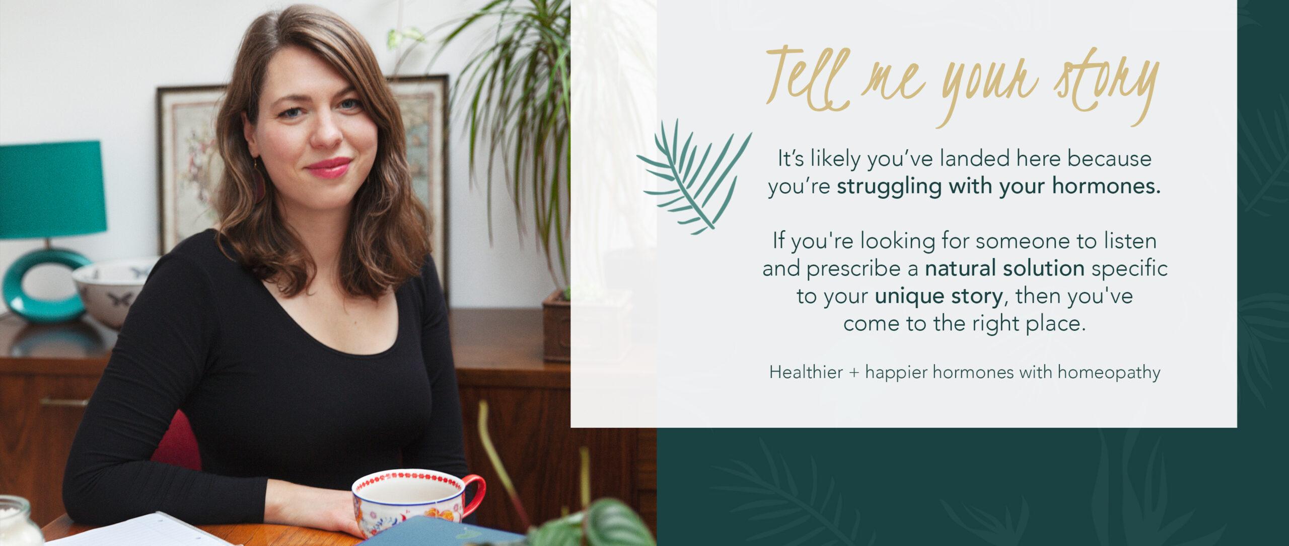 Hormones - happier & healthier with homeopathy   London   Skype